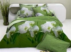 """Постельное белье """"Орхидея"""" евро"""
