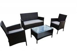 "Комплект уличной мебели ""Locarno""  (стол - 80х50 см, диван, 2 кресла)"