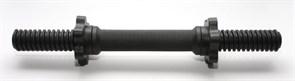 Гриф гантельный пластиковый L-41см  с метал. стержнем (41см) d-25мм