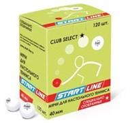 Мячи для настольного тенниса Start-line CLUB SELECT 1*, 120 мячей