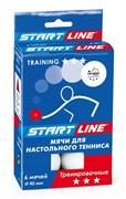 Мячи для настольного тенниса Start-line TRAINING 3 звезды