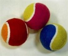 Мяч для большого тенниса TB2COL3 цветной 3шт.