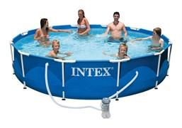 Каркасный бассейн Intex 56996/28212 + фильтр-насос (366х76см)