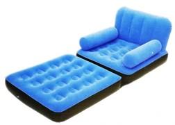 Надувное кресло трансформер Bestway 67277 (синий)
