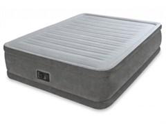 Надувная кровать Intex 67768 со встр. насосом 220В (137х191х33)