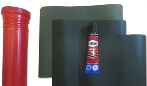 Ремкомплект для Резиновых и ПВХ лодок (в тюбике)