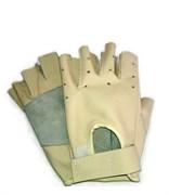 Перчатки для спорта из нат. кожи -Бежевый