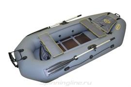 Двухместная надувная лодка из ПВХ Стрелка 270 люкс