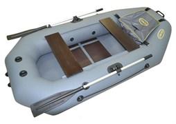 Двухместная надувная лодка из ПВХ Стрелка 250 люкс
