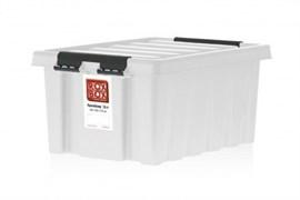 "Ящик пластиковый с крышкой ""RoxBox"" 3,5 л, прозрачный 210х172х140см"