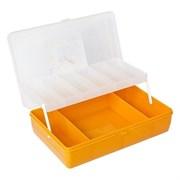 "Коробка ""Тривол"" ТИП-4 (желтая).  235х150х65мм"
