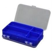 Коробка для мелочей двухсторонняя (синяя) 140х80х40мм