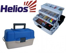 "Ящик трехполочный ""Helios"" синий - 400х200х220мм"