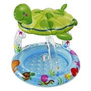 Детский бассейн Черепаха с навесом Intex 57119 (102х107 см)