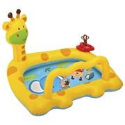 Надувной бассейн детский Жираф Intex 57105 (112х91х72 см)