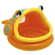 Детский надувной бассейн Рыбка Intex 57109 (124х109х71 см)