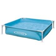 Квадратный каркасный бассейн Intex 57173 (122х122х30см)