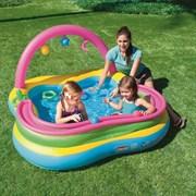 Надувной игровой центр-бассейн Bestway 52125