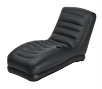 Надувной шезлонг  Intex 68585 (81х173х91) черный