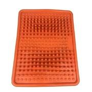 Коврик массажный для стоп 35*27*3см ZS-950, оранжевый