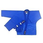 Кимоно дзюдо ES-0498  рост 130 (синее)
