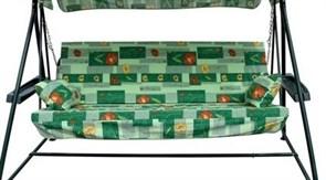 Комплект подушек для качелей 170 см  (Касабланка, Стандарт, Карибы), тент в комплекте 170х50 х0,7см