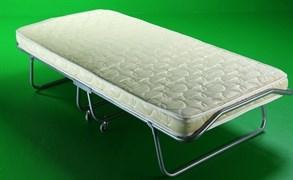 Раскладушка Барвиха Люкс с матрасом + ограничители матраса (кровать раскладная) 2050x900x400мм
