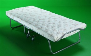 Раскладушка Релакс 2 с матрасом + ограничители матраса (кровать раскладная) 1900x800x380мм