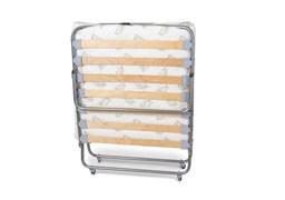 Раскладушка Релакс 2 с матрасом + ограничители матраса (кровать раскладная) 1900x800x400мм