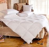 """Одеяло кассетное «Bliss»   200x220  (Легкое)- Серый пух сибирского гуся категории """"Экстра"""""""