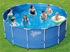 Каркасный бассейн Summer Escapes P20-1548-Z + лестница, тент, подстилка (457х122см)