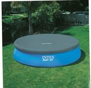 Тент для бассейна с верхним надувным кольцом (396см) Intex 28026