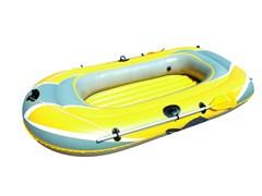 Лодка надувная 3-х местная Bestway Hydro-Force 61083 + аллюминиевые весла, насос