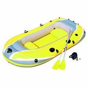 Надувная лодка BestWay 61068 2-х местная Hydro-Force + аллюминиевые весла, насос, надувные сиденья