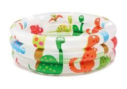 Детский бассейн Динозавр Intex 57106 (61х22)