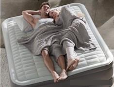 Надувная кровать Intex 64486 двуспальная со встроенным насосом 220В  (152х203х46см)