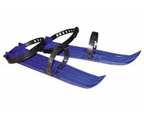 Мини-лыжи большие 2 ремня L-41см