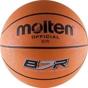 Мяч баскетбольный MOLTEN B7R р. 7, резина, оранжевый