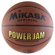 Мяч баск. MIKASA BSL20G р.7, синт. кожа, коричневый