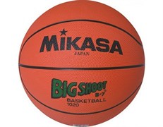 Мяч баскетбольный MIKASA 1020 р.7, резина, оранжевый
