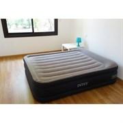 Надувная кровать Intex 64136 двуспальная со встр. насосом 220В