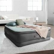 Надувная кровать Intex 64484 полутораспальная со встр. насосом 220В