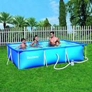Каркасный бассейн Bestway 56411 + фильтр-насос