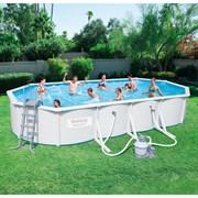 Каркасный бассейн со стальными стенкам BestWay 56604