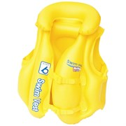 Жилет надувной с подголовником BestWay 32034 желтый