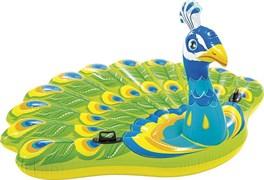 Надувной матрас-игрушка «Павлин» Peacock Island  INTEX  57250 193х163x94см