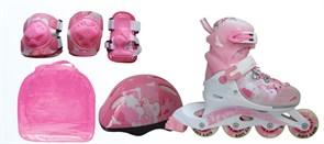 Набор: коньки ролик, защита, шлем р.26-29 PW-999