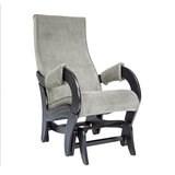 Кресло-качалка, модель 708, венге Verona Light Grey Ткань