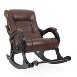 Кресло-качалка, модель 77, венге Antik Crocodile Экокожа