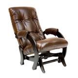Кресло-качалка, модель 68, венге Antik Crocodile Экокожа